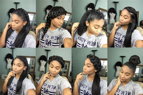 hairstyles for straight natural hair simple hairstyle for straight hairstyles for natural hair