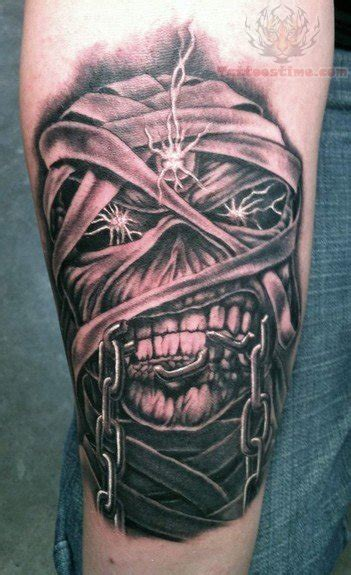 eddie tattoo mummy images designs