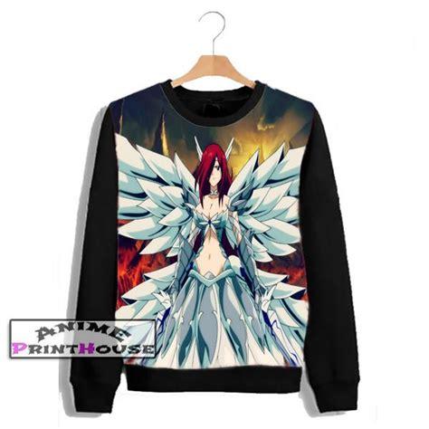 sweater erza scarlet design anime print house
