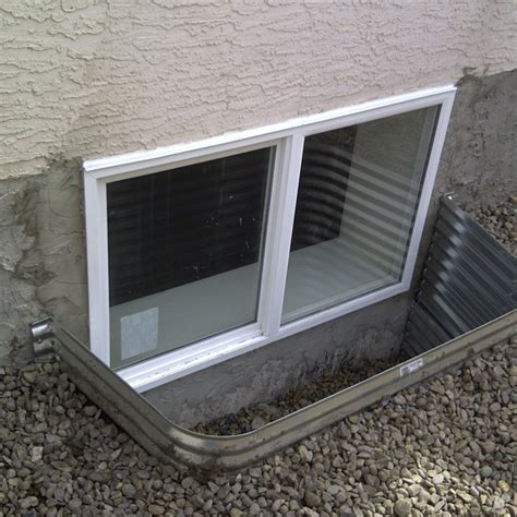 install basement window egress basement window installation marcotte glass calgary