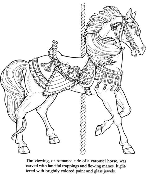 coloring pictures of carousel horses 17 best images about carousel horses on pinterest disney