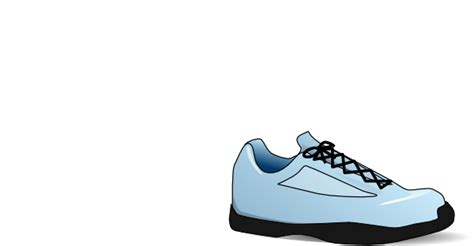 animated running shoes tennis shoe clip at clker vector clip