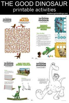 libro fletcher and the falling the good dinosaur movie printable coloring activity sheets all my goodies recipes tips