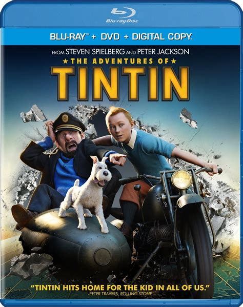 1405206152 the adventures of tintin the adventures of tintin blu ray review collider