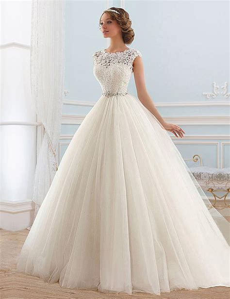 Lace Gown Wedding by Lace Tulle Princess Beading Wedding Gown My Wedding