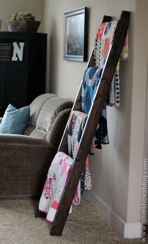 blanket ladder diy for flat pinterest diy blanket ladders lolly jane