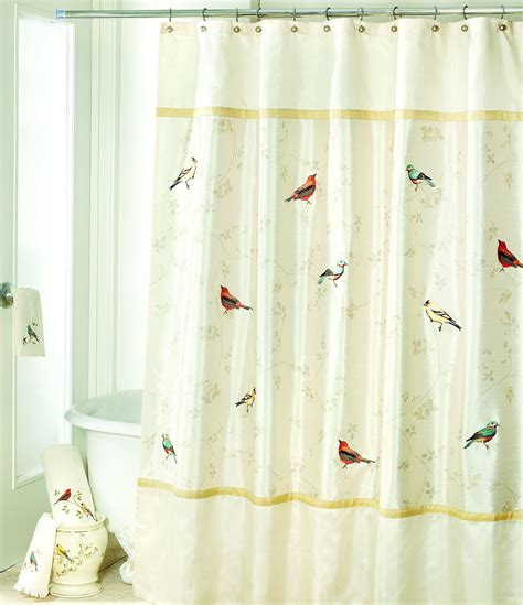 dillards curtains avanti linens gilded birds shower curtain dillards