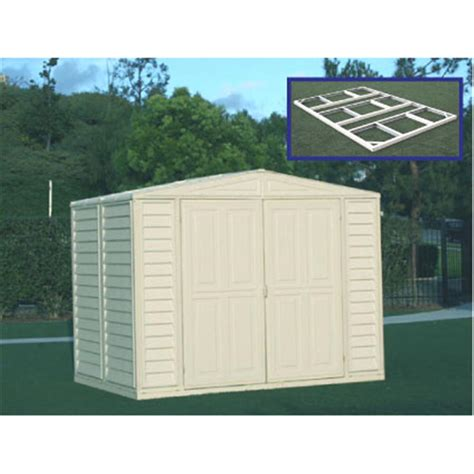 Cheap Plastic Sheds 8x6 by Duramax 174 8x6 Duramate Vinyl Shed 130901 Sheds At Sportsman S Guide