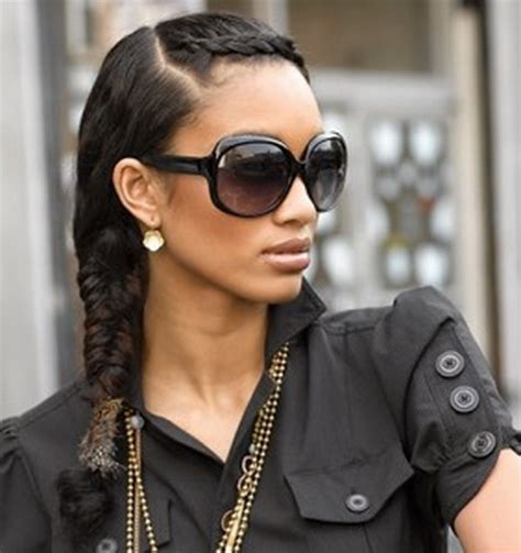 black hair styles for for side frence braids french braid hairstyles black hair