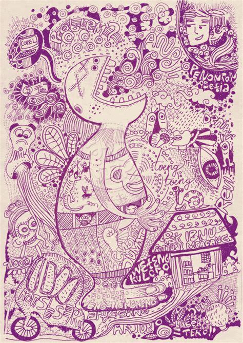 doodle rumah inilah doodle sakit perut sang vectoria jenaka