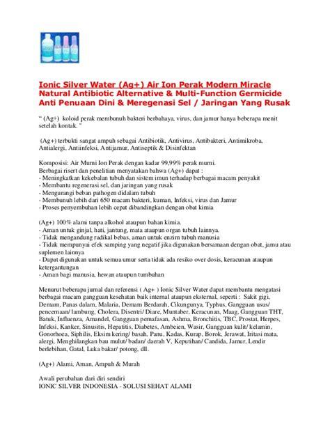 Air Ion Perak Ag Ionic Silver Water Paket Mitra Ag 500 Ml peluang usaha air ion perak ag ionic silver water di