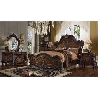 vienna 4 pc queen bedroom set traditional other metro acme united traditional bedroom furniture 4pc queen size