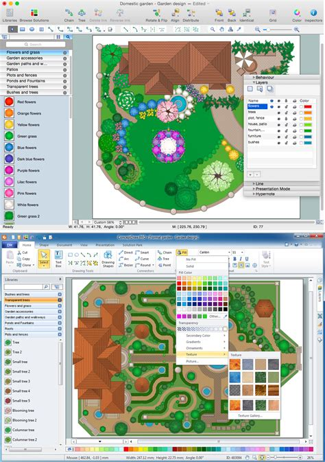 landscape designer software landscape design software for mac pc garden design