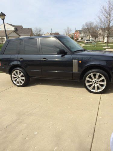 navy range rover sport buy used 2003 land rover range rover hse sport utility 4