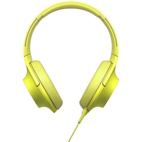 Sony Mdr 100aap sony h ear on high resolution audio headphones mdr 100aap y b h