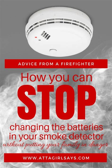 New Home Electrical Wiring Never Change A Smoke Detector Battery Again And Still