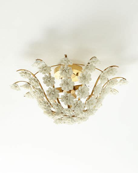 neiman marcus lighting fixtures ceramic flowers flush mount light fixture neiman marcus