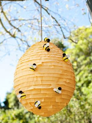 How To Make A Paper Beehive - how to make a pinata paper mache pinata