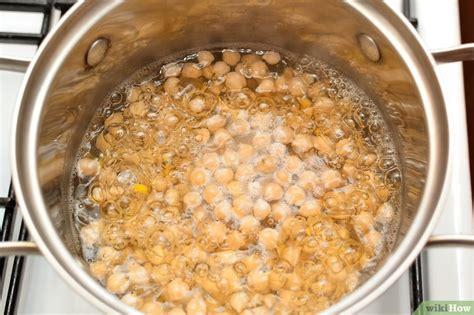 cucinare i ceci secchi 3 modi per cucinare i ceci secchi wikihow