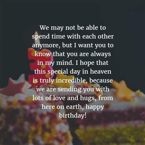 Lovely Birthday Quotes To Your Loved Ones Best Happy Birthday In Heaven Wishes For Your Loved Ones