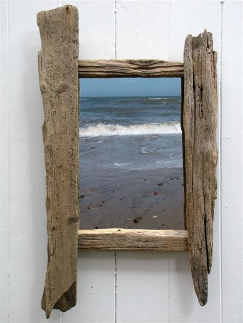 Home Decor Hanging driftwood mirror no 5 coastalhome co uk gone but not