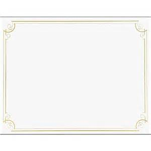 great papers 173 173 174 golden scroll frame foil certificate
