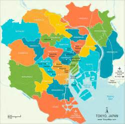 Tokyo World Map by Tokyo Japan Tourist Destinations