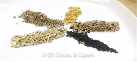 whole grains meaning in bengali bengali panch phoron recipe the bengali 5 spice how to