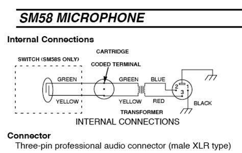 shure sm58 wiring diagram sm58 wiring diagram 19 wiring diagram images wiring