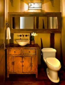 Bathroom half bath rustic look rustic bathrooms bathroom ideas