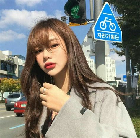 ulzzang hairstyle for round face best 25 see through bangs korean ideas on pinterest