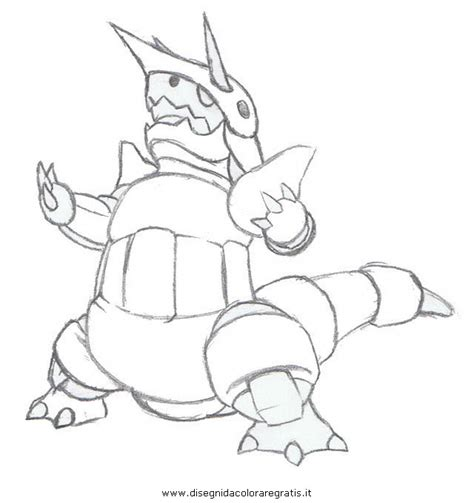 pokemon coloring pages aggron pokemon sketches drawings sketch coloring page