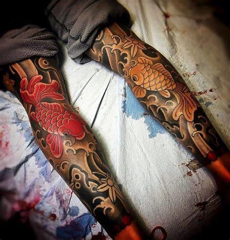 Japanese Tattoo Leg Sleeve | japanese leg sleeve tattoos by joshcartertattoo