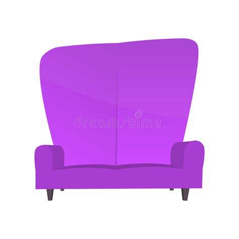 pink sofa app abstract creative funny cartoon sofa set isolated on