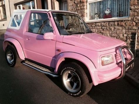 Suzuki Vitara Fatboy Suzuki Vitara Boy Baby Pink Wide Boy On Gumtree Here