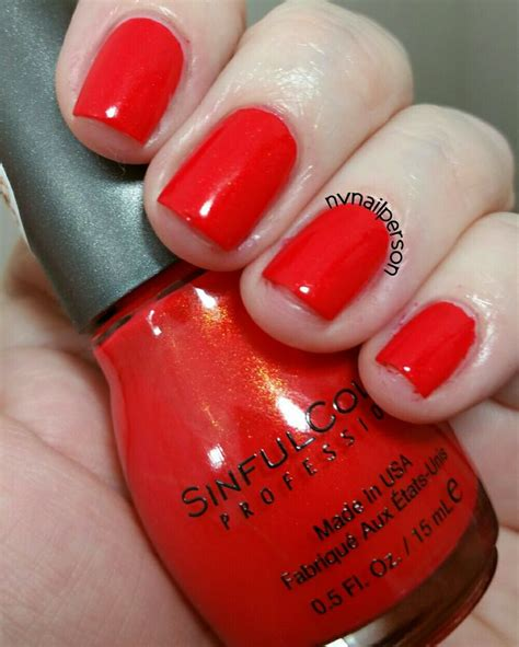 Sinful Colors Nail Ideas