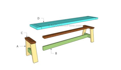 build a bench seat wood bench seat plans myoutdoorplans free woodworking