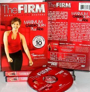 the firm new dvd maximum cardio burn plus abs workout calorie burn 767712811941 ebay