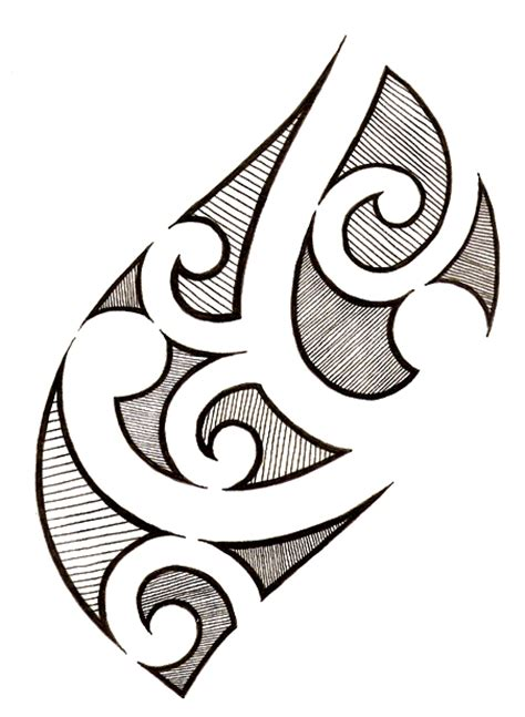 Simple Polynesian Tattoo Design | polynesian tattoo 1 by melhadkei on deviantart