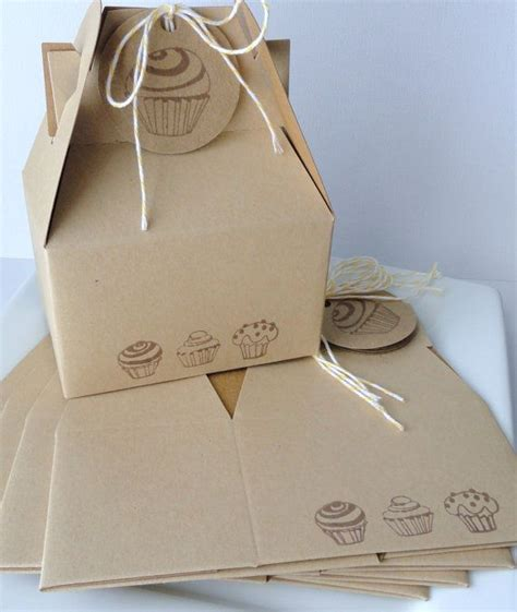 cupcake box ideas cupcake trio border gable boxes sted and