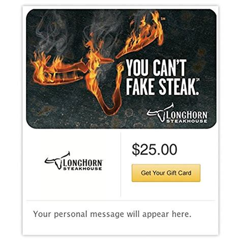 Longhorn Gift Cards - awardwiki longhorn steakhouse e mail delivery
