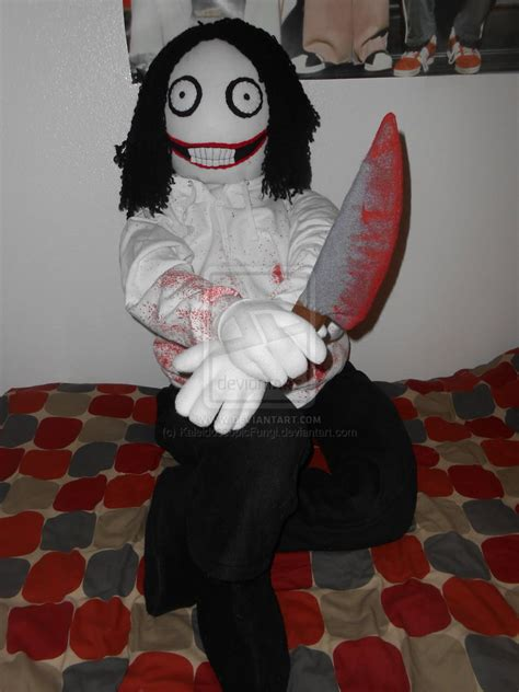 jeff the killer plush commission size jeff the killer plush by
