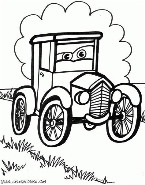 coloring pictures of old cars old cars coloring pages free large images