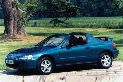 Honda Civic Convertible by Honda Crx Convertible Review 1992 1997 Parkers