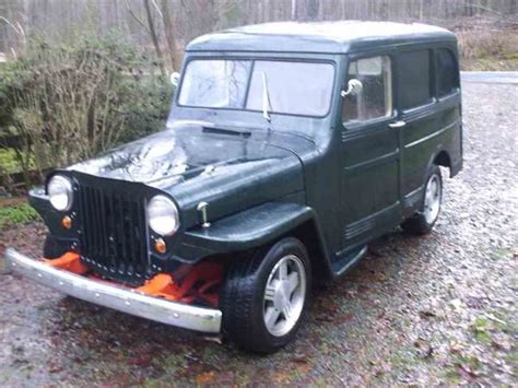 willys jeep for sale 1952 willys jeep for sale classiccars com cc 760269