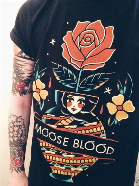 Moose Blood Band T Shirt 1003 best band merch images on band merch