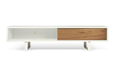 meuble tv bois blanc pas cher meuble tv bas bois pas cher