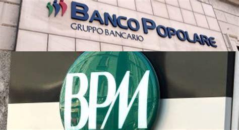 il banco popolare banco popolare concluso l aumento e fissato cambio con bpm