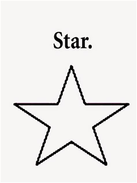 simple star coloring page coloring page of a star shape colorings net