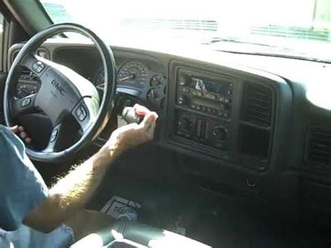 Chevrolet Gmc Radio Repair And Removal Youtube